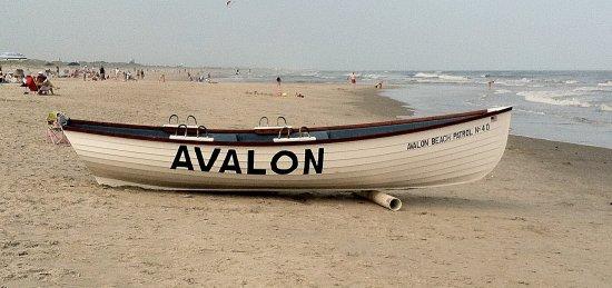 Cape May Court House, Nueva Jersey: Avalon beach