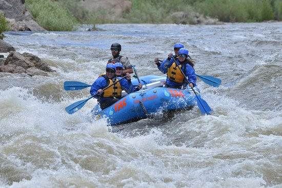 Buena Vista, CO: Whitewater Rafting in Browns Canyon