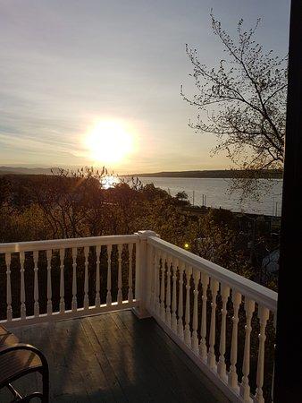 Chateau Richer, Canada: Levé de soleil