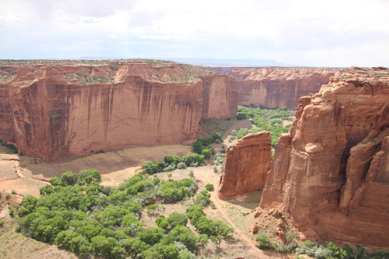 Canyon de Chelly National Monument: Sliding Rock