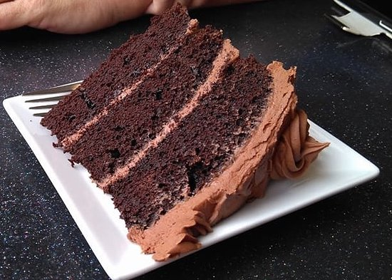 Chester, Καναδάς: Triple chocolate cake