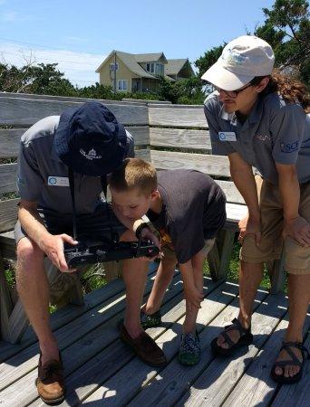 Hatteras, Carolina del Norte: Marsh Madness - flying the drone