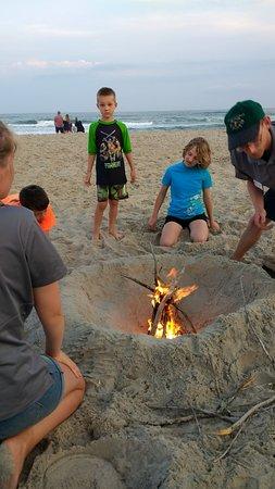 Hatteras, Carolina del Norte: Campfires, Crabs, and Constellations