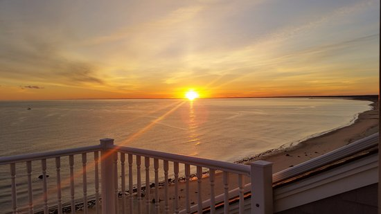 Sand Dollar B&B: View from the Sandtower suite