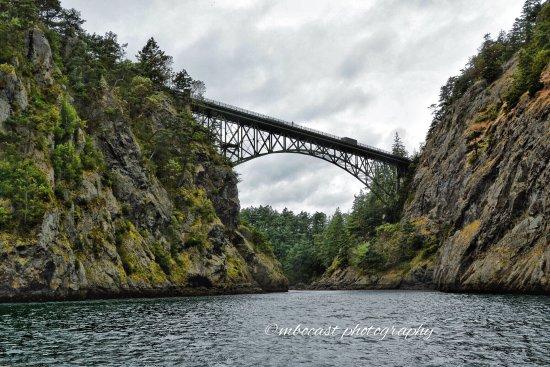 โอกฮาร์เบอร์, วอชิงตัน: Deception Pass bridge