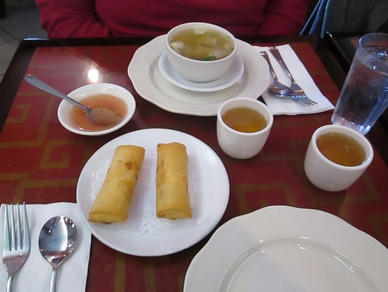 Marlton, NJ: Soup or Spring Roll is included with the lunch specials