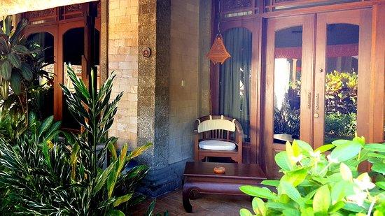 Tamukami Hotel: Suite entrance
