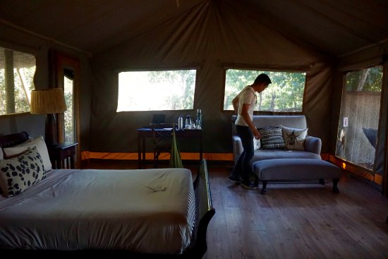 Linyanti Reserve, Botswana: Large, comfortable tents