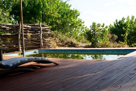 Linyanti Reserve, Botswana: Small pool overlooking the marsh