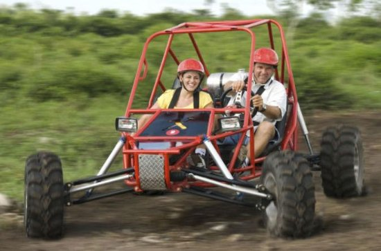 Cozumel Off-Road Xrail Buggy Tour to the Jade Caverns