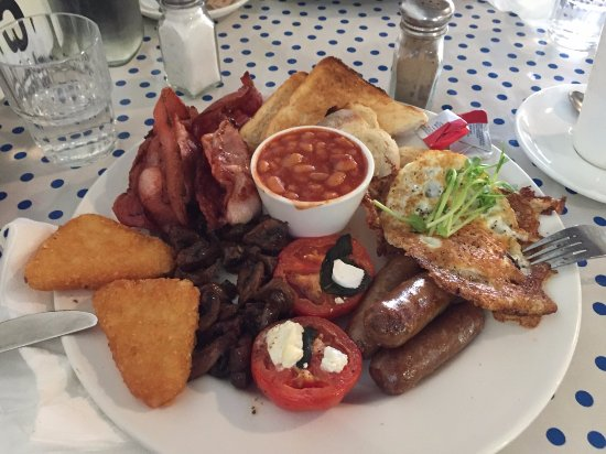 Nannup, Australia: Big breakfast