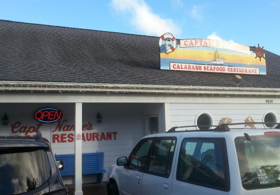 Calabash, NC: Don't let the exterior fool you...