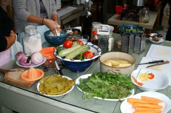 Traditional Cooking Class at Vatos Village Crete
