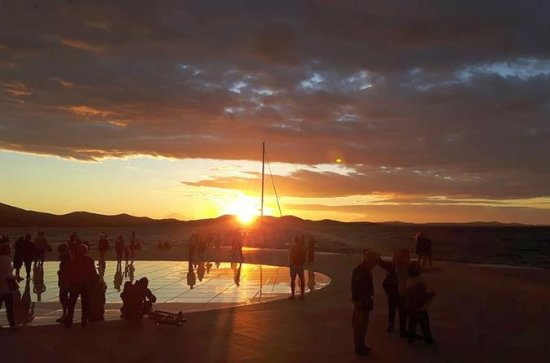 Walking sunset tour Zadar