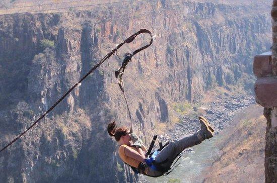 Gorge Swing inkludert Batoka Gorge...