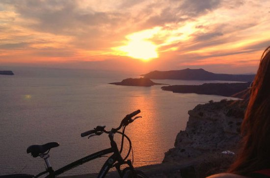 Santorini Romantic Sunset eBike Tour