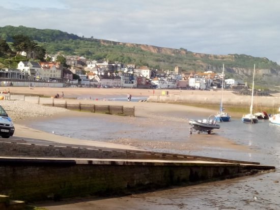 Lyme Regis, UK: view from the Cobb