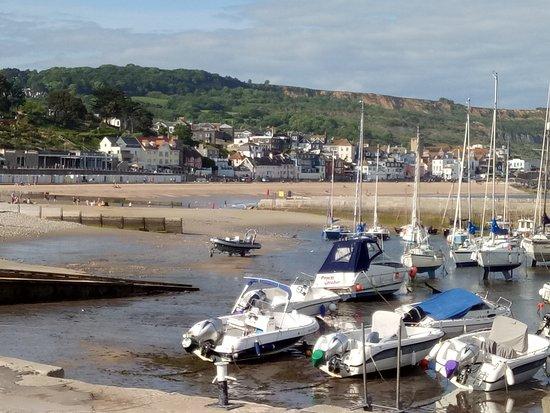 Lyme Regis, UK: view