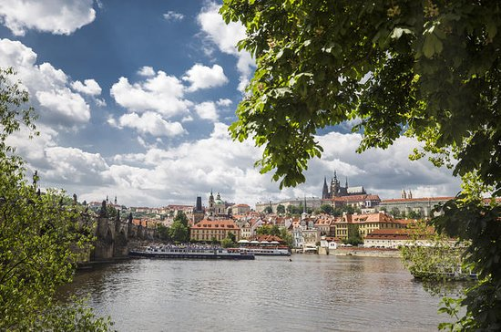 Prague Castle and Canal River Boat...