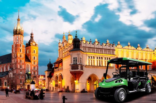 Visite de la ville de Cracovie en...