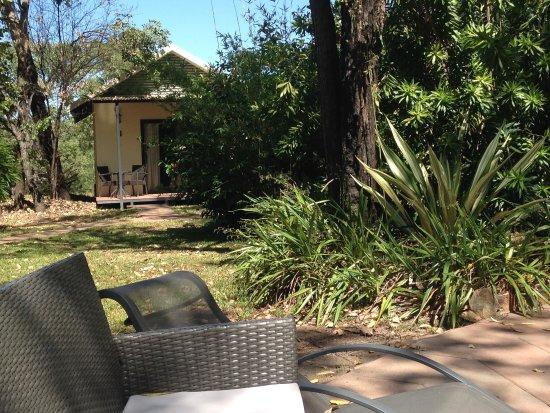Territorio del Norte, Australia: Our bungalow near the pool
