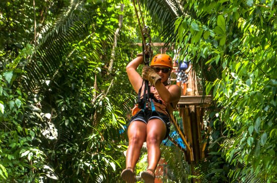 Cave Tubing and Zip line Adventure...