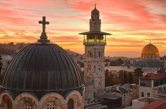 Jerusalem og Betlehem tur fra Raanana