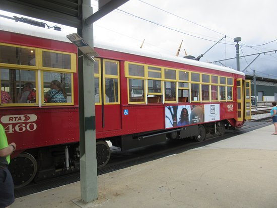 canal streetcar interior picture of rta streetcars new orleans tripadvisor. Black Bedroom Furniture Sets. Home Design Ideas