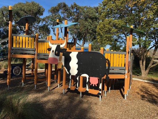 Cow Playground