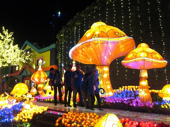 Taman Jamur Picture Of Malang Night Paradise Tripadvisor