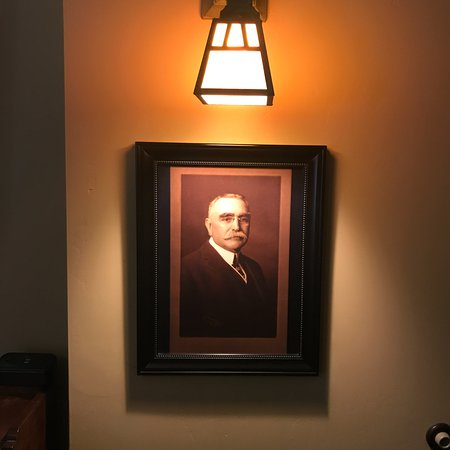 1906 Lodge: We were in the Winchester Room, hence Mr. Winchester.