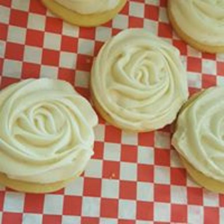 Shamrock, TX: buttercream cookies from our bakery