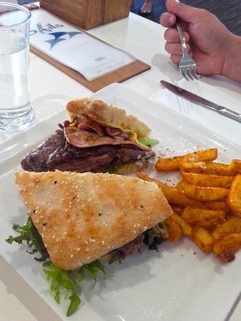 Bowen, Australia: Steak Salad Sandwich