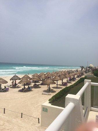 Paradisus Cancun: Aerial View of the Beach.
