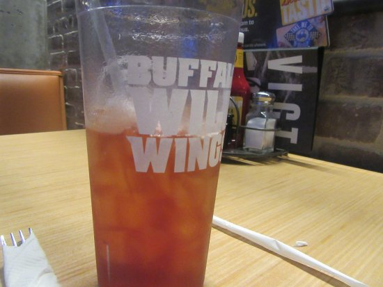 Ice Tea, Buffalo Wild Wings, Pacific Commons, Fremont, CA