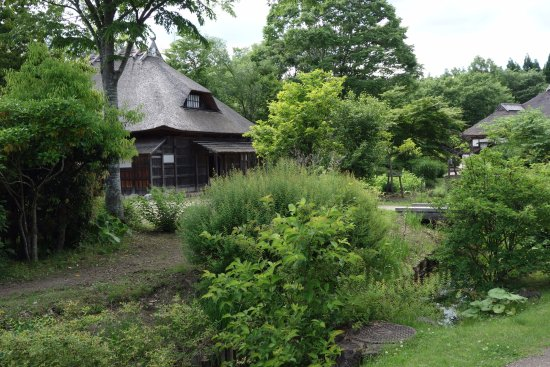 Kawasaki-machi, Japan: Historic buildings are woven throughout the park
