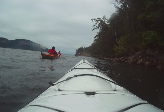 Pender Island, Canadá: Kayak (Action Camera)