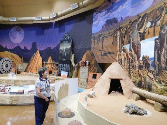 Tuba City, AZ: Inside the museum