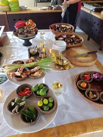 Ketut's Bali Cooking Class: de producten