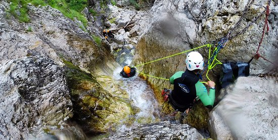‪‪Bovec‬, سلوفينيا: Predelica canyoning adventure‬
