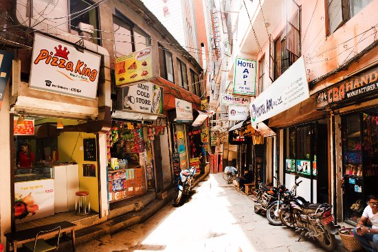 Street View of Pizza King, Narsingh Chowk Marg, Thamel - Picture of
