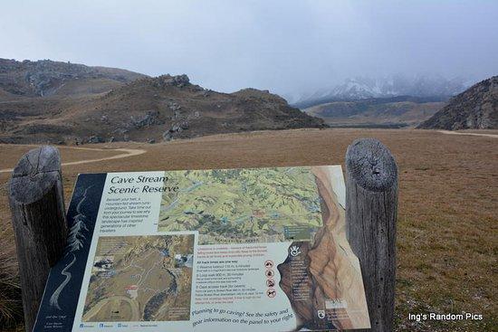 Canterbury Region, New Zealand: Cave Stream Scenic Reserve