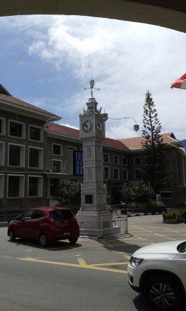 Остров Маэ, Сейшельские острова: Wahrzeichen von Viktoria, der Glockenturm