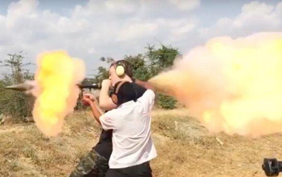 Cambodia Extreme Outdoor Shooting Range