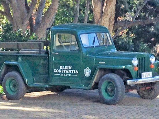 Love the history at Klein Constantia