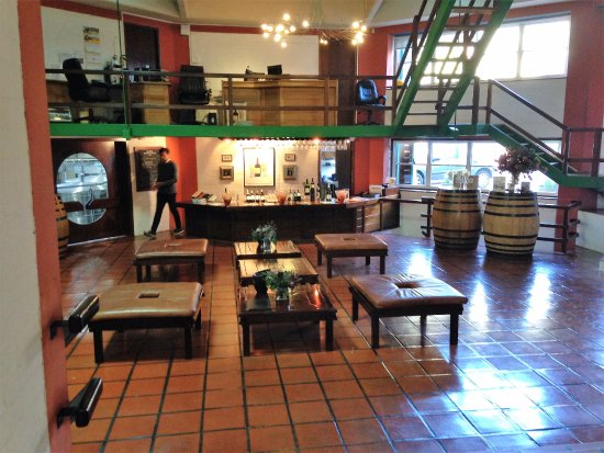 Constantia, Sydafrika: Inside the tasting room