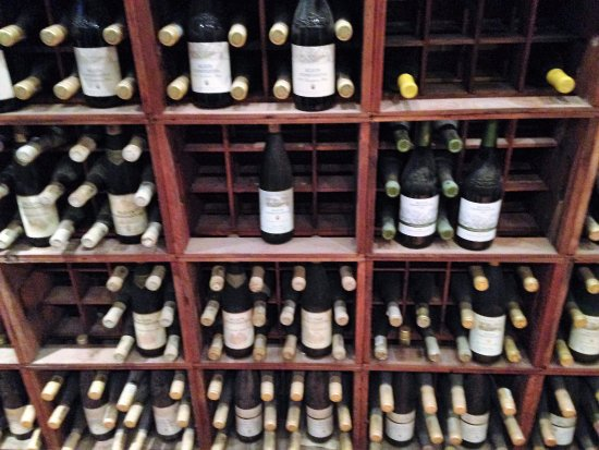 Constantia, Sør-Afrika: Bottles dating back many years