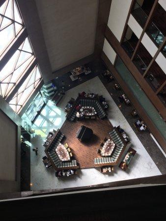 A business class hotel