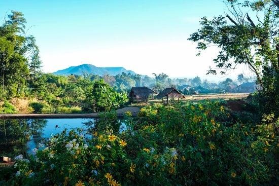 Salavan Province, لاوس: Rural landscapes in Salavanh province