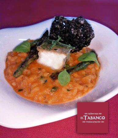 Restaurante Tabanco: Arroz meloso
